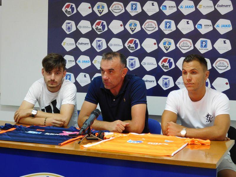 FOTO Predstavljeni Matteo Pranić i Toni Vidović