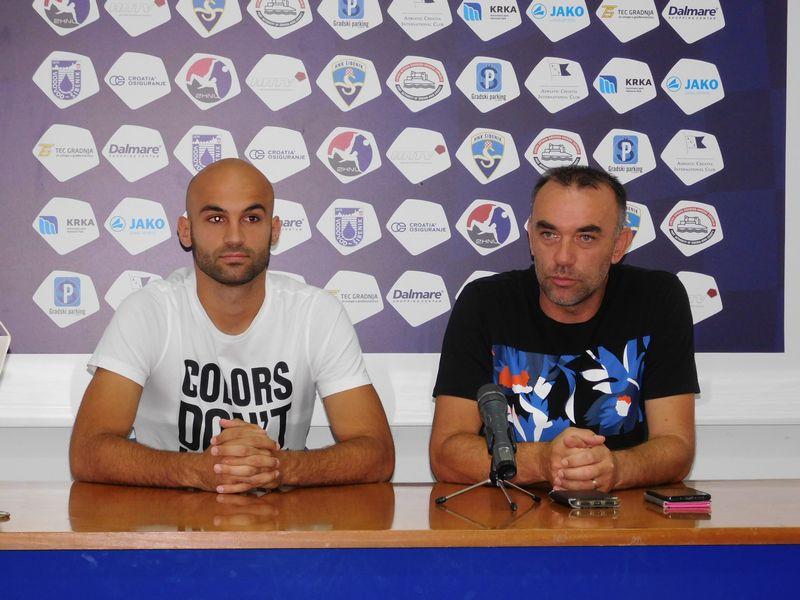 FOTO Predstavljen napadač Luka Juričić