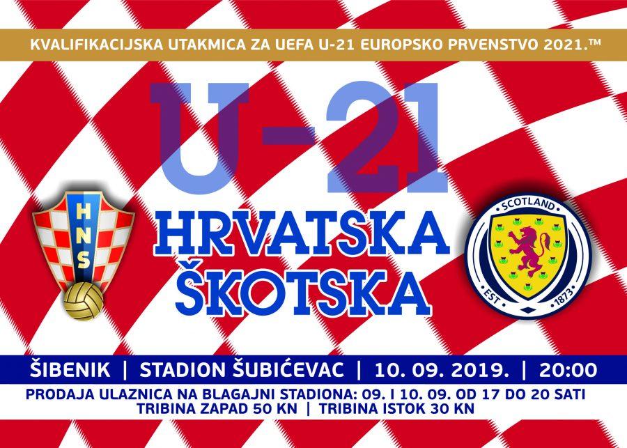 Prodaja ulaznica za utakmicu U-21 reprezentacije Hrvatske