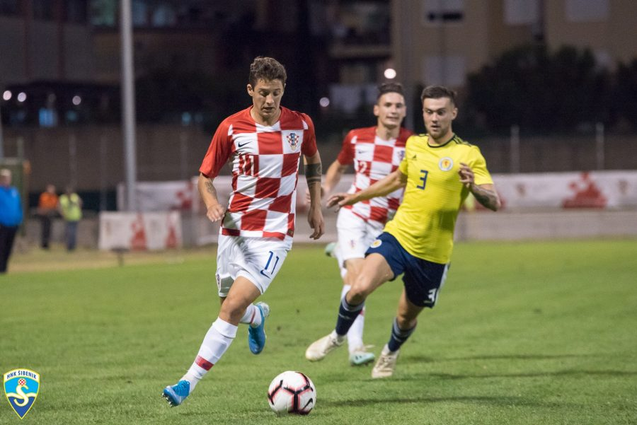 FOTO Poraz U-21 reprezentacije na Šubićevcu