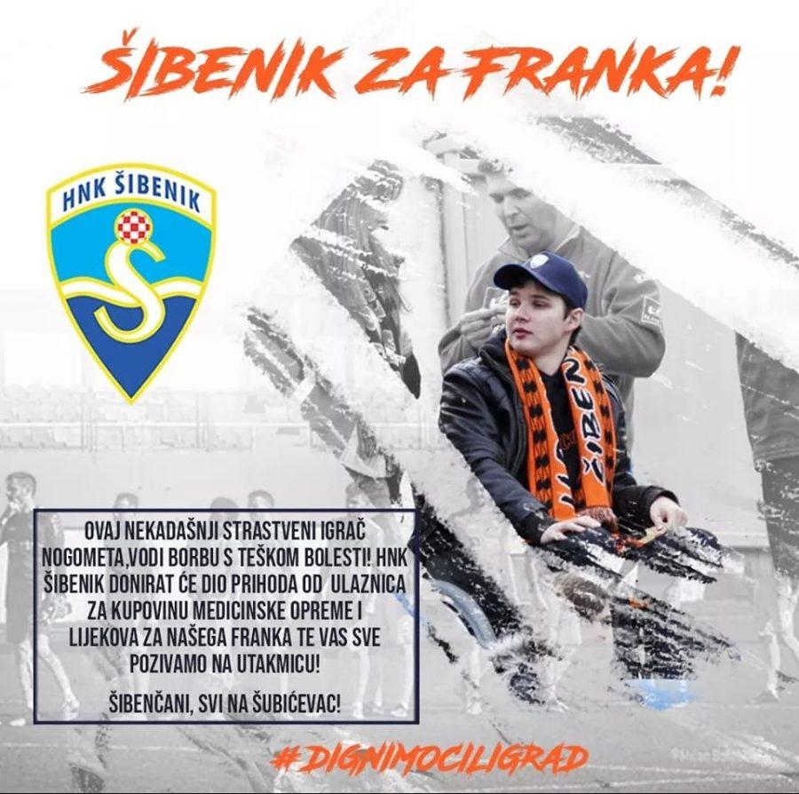 Dio prihoda od ulaznica za Franka Sulju!